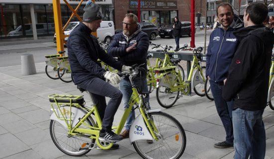 Oslo Ebike sharing