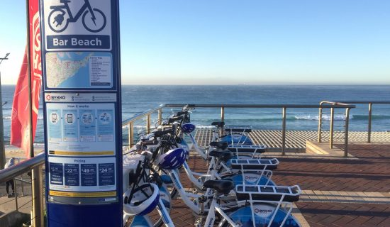 Bykko Ebike station beach